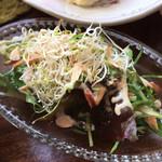 BAGEL CAFE SORARIN - ランチのサラダ