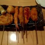 ちょぼや - 料理写真:串揚げ盛合せ6本 980円