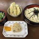 黒田藩 - 料理写真:ざるうどんセット=500円