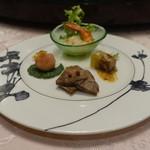 中国料理 王宮 - 前菜4種