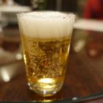 中国料理 王宮 - 瓶ビールでカンパイ