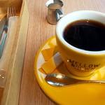 メロー ブラウン カフェ - ドリンク写真:セットの珈琲