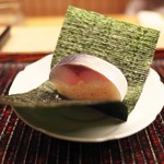 緒方 - さば寿司。