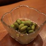 大衆酒場 こうじゑん - 浸し豆¥300