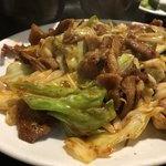 焼肉 盛楽 - 日替りランチの回鍋肉