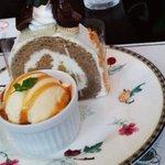 SAWAI COFFEE&TEA - ロールケーキセット