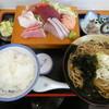 江戸家 - 料理写真:お刺身定食1200円