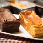 Betterave Bistro Jiro - モワールショコラ/チーズケーキ