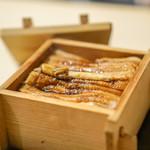 実伶 - 穴子蒸し寿司