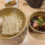 100294906 - 味玉・醤油つけ麺