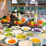 パセオガーデン - 朝食ブッフェ『ラグ菜畑コーナー』