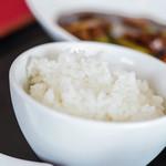 ヌーベルシノワ Ishibashi - 米飯(こめのいひ)