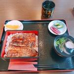 川合うなぎ店 - 料理写真:うな重3000円