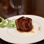 中国料理 王宮 - 渥美産うまみ豚トンポーロー