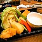 和民 - 季節畑のグリル野菜