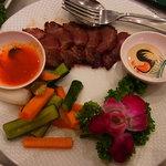 シンガポール海南鶏飯 - 焼豚