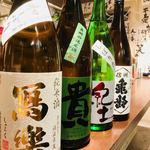 立飲みビールボーイ - 日本酒にもこだわっています♪