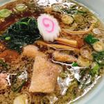 拉麺職人満大 - 鶏肉ラーメン(醤油)