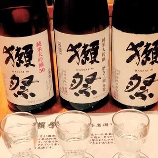 【都内唯一】豊富な日本酒◆オススメ飲み比べセットも有り◆