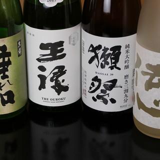 姫路初のTheパーフェクト黒ラベルと、こだわりの地酒で乾杯