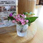 小さな宿&レストラン しいの木やま - 今日の小花