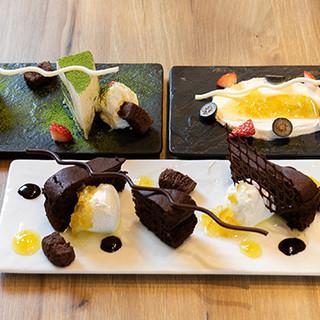 日本人が慣れ親しむ柚子をシェ・シバタ流にアレンジしたスイーツ