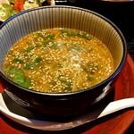 100308131 - 「濃厚魚介つけ麺ランチ」のつけ汁