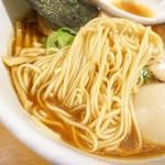 ラーメン ABE's - 2018年10月 麺の食感がいい(*´˘`*)