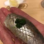すし岩瀬 - 料理写真:鰯