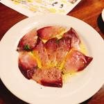 100309549 - 本日鮮魚のカルパッチョ