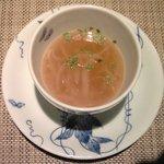 10031116 - 銀座千円フレンチ 1000円 のオニオングラタンスープ