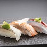 トキワ寿司はなれ - 三点握り