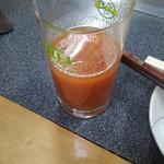 お好み焼き 喜楽 - 江刺トマトジュース