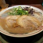 博多とんこつ 天神旗 - 料理写真:若醤油とんこつ
