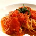 オリーブの樹 - 料理写真:フルーツトマトのパスタ、美味!!