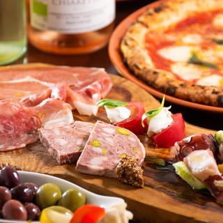 南イタリア料理を思う存分。ワインとの相性は◎
