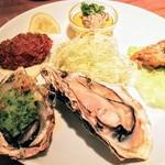 100318598 - 牡蠣料理5種盛り合わせ