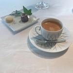 100319278 - ★8コーヒー ☆7.5ピスタチオのカヌレ ☆6.5レモンのマカロン