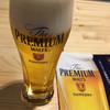 サントリー 京都ブルワリー - ドリンク写真:一杯目 プレミアムモルツ ( ´θ`)