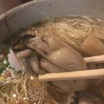 ラーメン考房 昭和呈 - 牡蠣淡麗醤油