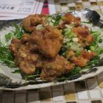 野田焼売店 - 鶏の唐揚げ~油淋鶏~580円