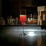 サイタブリア バー - ■あまおうとシャンパンのカクテル