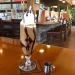 コーヒー通の店 散茶廊 - 料理写真:アイス ショコラオーレ