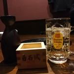 炭火焼肉七福 - ドリンク写真: