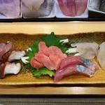 寿司処 すず木 - 刺身盛り合せ