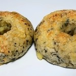 COBO pan - ほうれん草エビチーズベーグル