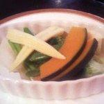 10033437 - 彩り温野菜蒸し・三種の味で¥780
