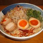 麺屋 一 - 味玉赤カラ らー麺