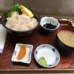 丸青食堂 - ホタテ丼