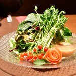和食と個室 みや本 - グリーンサラダ